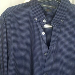 John Varvatos Star USA casual button down M